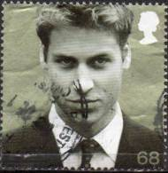 GREAT BRITAIN 2003 Prince Willam's 21st Birthday: 68p Green - Used Stamps
