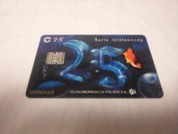 POLAND- Nice Chipphonecard TRANSPARENT !! - Pologne