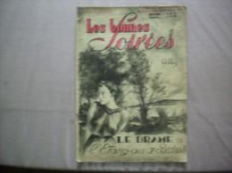 LES BONNES SOIREES N° 52 DU 28 DECEMBRE 1941 DELLY LE DRAME DE L'ETANG AUX BICHES - Livres, BD, Revues