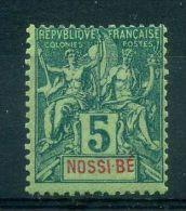NOSSI-BE  ( POSTE ) : Y&T  N°  30 , TIMBRE  NEUF  AVEC  TRACE  DE  CHARNIERE , A  VOIR . - Nossi-Bé (1889-1901)