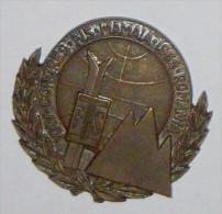 ROMANIA - MEDALIA PLACHETA  F.S. XXV CONGRES FIS MAMAIA 1965- MEDAL MEDAGLIA - Andere