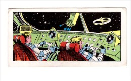 SPACE SCI-FI - 1956 UK - JEFF HAWKE - SPACE GEN - JUNIOR EXPRESS WEEKLY # 1- Space Pilot´s Flight - Trade Cards