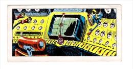 SPACE SCI-FI - 1956 UK - JEFF HAWKE - SPACE GEN CARDS ISSUED BY JUNIOR EXPRESS WEEKLY IN 1956 # 3 - RADAR & RADIO PANEL - Kaufmanns- Und Zigarettenbilder