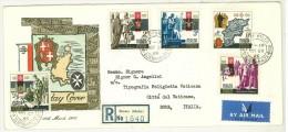 FDC MALTA -  ANNO 1966  - SLIEMA-MALTA - 1566-1966 - PER TIPOGRAFIA POLIGLOTTA VATICANA - CITTà DEL VATICANO - RACCOMAND - Malta