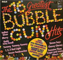 * LP *  THE 16 GREATEST BUBBLEGUM HITS - OHIO EXPRESS / 1910 FRUITGUM COMPANY / JAGGERZ A.o. - Compilaties