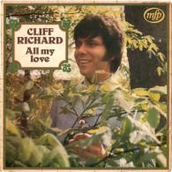 * LP *  CLIFF RICHARD - ALL MY LOVE (France 1969) - Disco, Pop