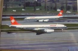 DC 8 62    SWISSAIR   HB IDG - 1946-....: Modern Era