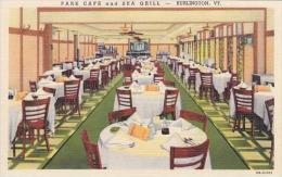 Vermont Burlington Park Cafe &amp  Sea Grill - Burlington