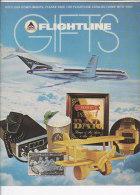 C1895 - Rivista DELTA AIR LINES - FLIGHTLINE GIFTS - MERCHANDISE Anni '70 - Riviste Di Bordo