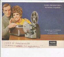C1905 - Brochure Illustrata PROIETTORI SUPER 8 NORIS - Projecteurs