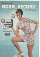 C1907 - Brochure Illustrata PROIETTOR SUPER 8 NORIS RECORD - Proiettori