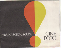 C1911 - Brochure Illustrata PROIETTORI CINEPRESA SUPER 8 BOLEX - ROLLEI - VIEW-MASTER Anni '60 - Film Projectors