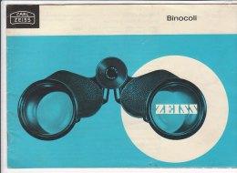 C1914 - Brochure Illustrata CATALOGO BINOCOLI CARL ZEISS - Fotografia
