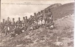 Soldats Français Et Italiens-col Des Trois Freres Mineurs - Militaria