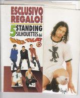C1960 - GADGET MUSICA - 5 STANDING SILHOUETTES DEI TAKE THAT - Manifesti & Poster