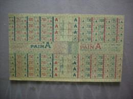 TITRE 3936 PAIN A SEPTEMBRE ET OCTOBRE 1947 - Bons & Nécessité