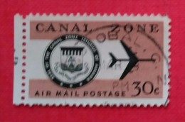 ESTADOS UNIDOD - USA. POSESIONES CANAL ZONE. USADO - USED - Canal Zone