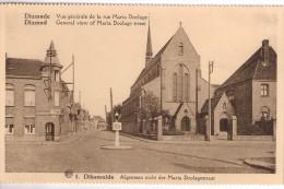 Dixmude  Albert Serie Vouwkaart Nr8 Algemeen Zicht Der Maria Doolagestraat  Zogoed Als Nieuw Niet Verstuurd. - Diksmuide