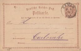 DR Ganzsache Nachv. Stempel K2 Hemer 8.2.74 - Deutschland
