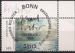 2013 Allem. Fed.  Mi. 3020 FD-used Weiden  Seestück; Gemälde Von Gerhard Richter - Oblitérés