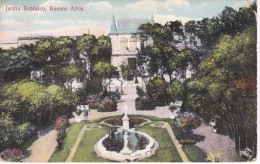 POSTAL DE BUENOS AIRES DEL JARDIN BOTANICO DEL AÑO 1912 (CARMELO IBARRA) (ARGENTINA) - Argentina