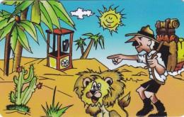 Liberia, FAKE-LIB-0071, 200 Units, FAKE Card, Safari Phone, 2 Scans. - Liberia