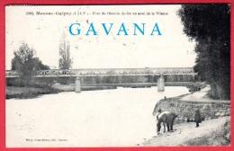 35 MESSAC-GUIPRY - Pont Du Chemin De Fer En Aval De La Vilaine - Autres Communes