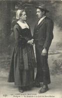 BRETAGNE - 29 - FINISTERE -HUELGOAT - Costumes Bretons - Fo^ret De Saint Herbot - Huelgoat