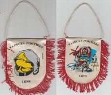 Petit Fanion Sapeur Pompier De Lens - Patches