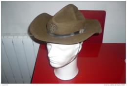 Chapeau Scout Badenpowel Avec Sa Croix - 1939-45