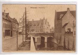 Diksmuide  Desaix Noordbrug Verstuurd Zegel Half Af Foto Opbouw 1925. - Diksmuide