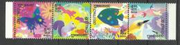 INDIA, 2003, Greetings, Set 4 V,  Rodent, Rabbit, Animal, Butterflies, Butterfly, MNH, (**) - Mariposas