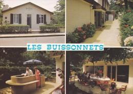 """33---LE MOULLEAU ARCACHON---hôtel Restaurant """" Les Buissonnets""""---voir 2 Scans - France"""