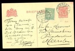 POSTHISTORIE * BRIEFKAART Uit 1921 Gelopen Van VENLO Naar MEERSSEN  (10.119x) - Entiers Postaux