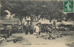 82 MONTAUBAN Marché à La Dèche  2 Scans - Montauban