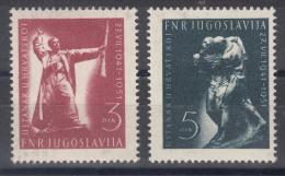 Yugoslavia Republic 1951 Mi#662-663 Mint Hinged - 1945-1992 Socialistische Federale Republiek Joegoslavië