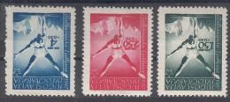 Yugoslavia Republic 1947 Mi#524-526 Mint Hinged - 1945-1992 Socialistische Federale Republiek Joegoslavië