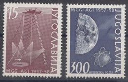 Yugoslavia Republic 1958 Mi#868-869 Mint Never Hinged - 1945-1992 Socialistische Federale Republiek Joegoslavië