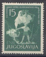 Yugoslavia Republic, Liberation Of Istria 1953 Mi#733 Mint Never Hinged - 1945-1992 Socialistische Federale Republiek Joegoslavië