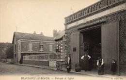 27 - BEAUMONT LE ROGER  - Entrepôt  A.Lefort - Beaumont-le-Roger