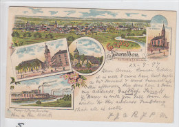 Sarralbe/Saaralben (F) Solvay Werk, Kirche/Eglise, Litho, 1897       ***75231 - Sarralbe