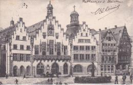 AK Frankfurt A.M. - Römer - 1907 (20496) - Frankfurt A. Main