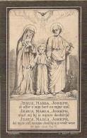 DP.BROEDERSCHAP DER H.FAMILIE OVERLEDEN PROVEN BINST HET JAAR 1898 - Religione & Esoterismo