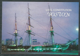 USA CARTOLINA BOSTON USS CONSTITUTION - COD.141 - Guerra 1939-45