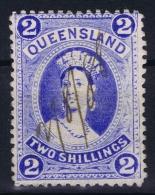 Queensland:  Mi 63 Used  1882 - 1860-1909 Queensland