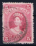 Queensland:  Mi 65 Used  1882  Signed/ Signé/signiert - 1860-1909 Queensland