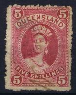 Queensland:  Mi 60 Y Used  1882 - 1860-1909 Queensland