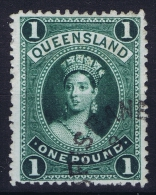 Queensland:  Mi 67 Used  1882  Signed/ Signé/signiert - 1860-1909 Queensland