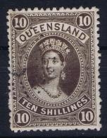Queensland:  Mi 66 Used  1882 - 1860-1909 Queensland