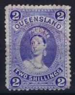 Queensland:  Mi 58 X Used  1882 - 1860-1909 Queensland